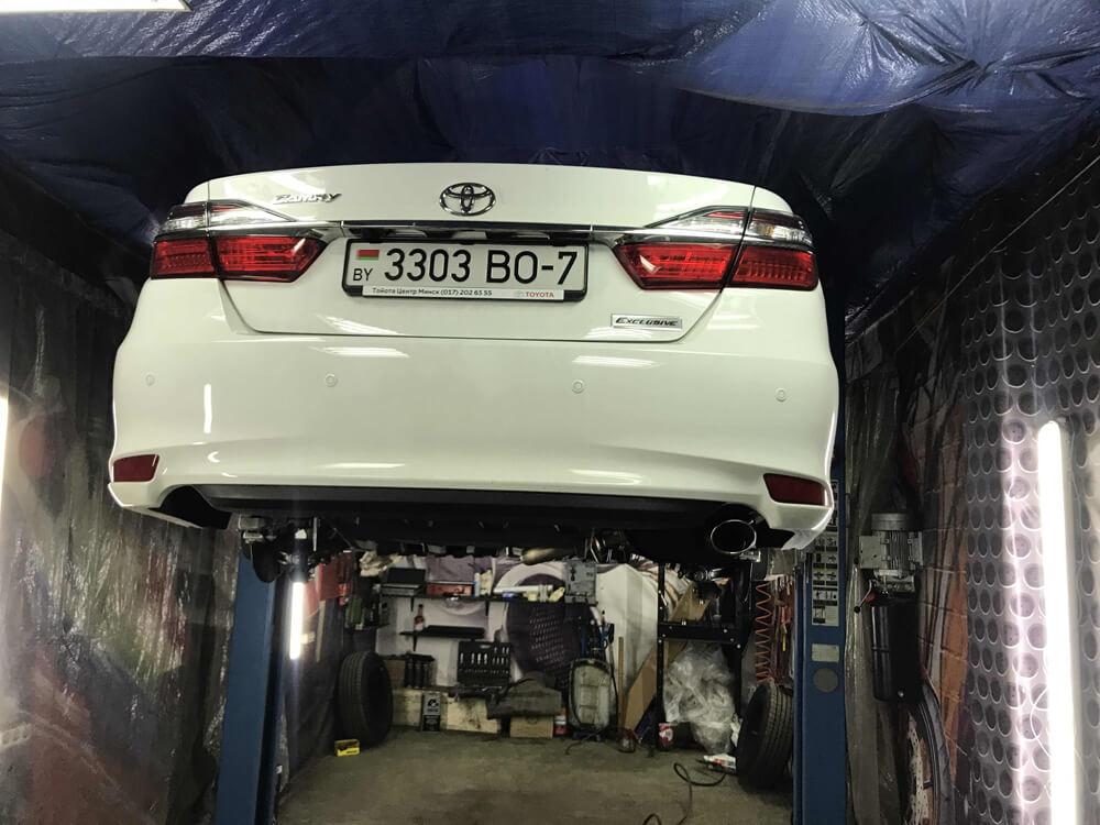 Антикоррозийная обработка кузова Тойоты